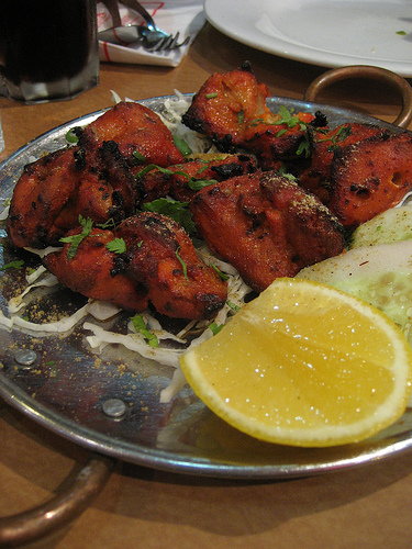 sizzling chicken-tikka